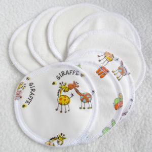 Nepropusni jastučići za grudi 10 cm (1 par)